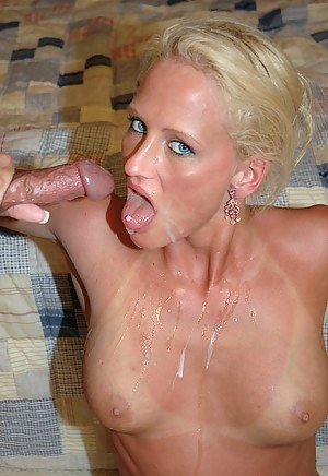 British Mature Cum Mouth